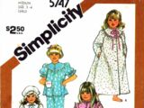 Simplicity 5747