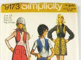 Simplicity 9173 B
