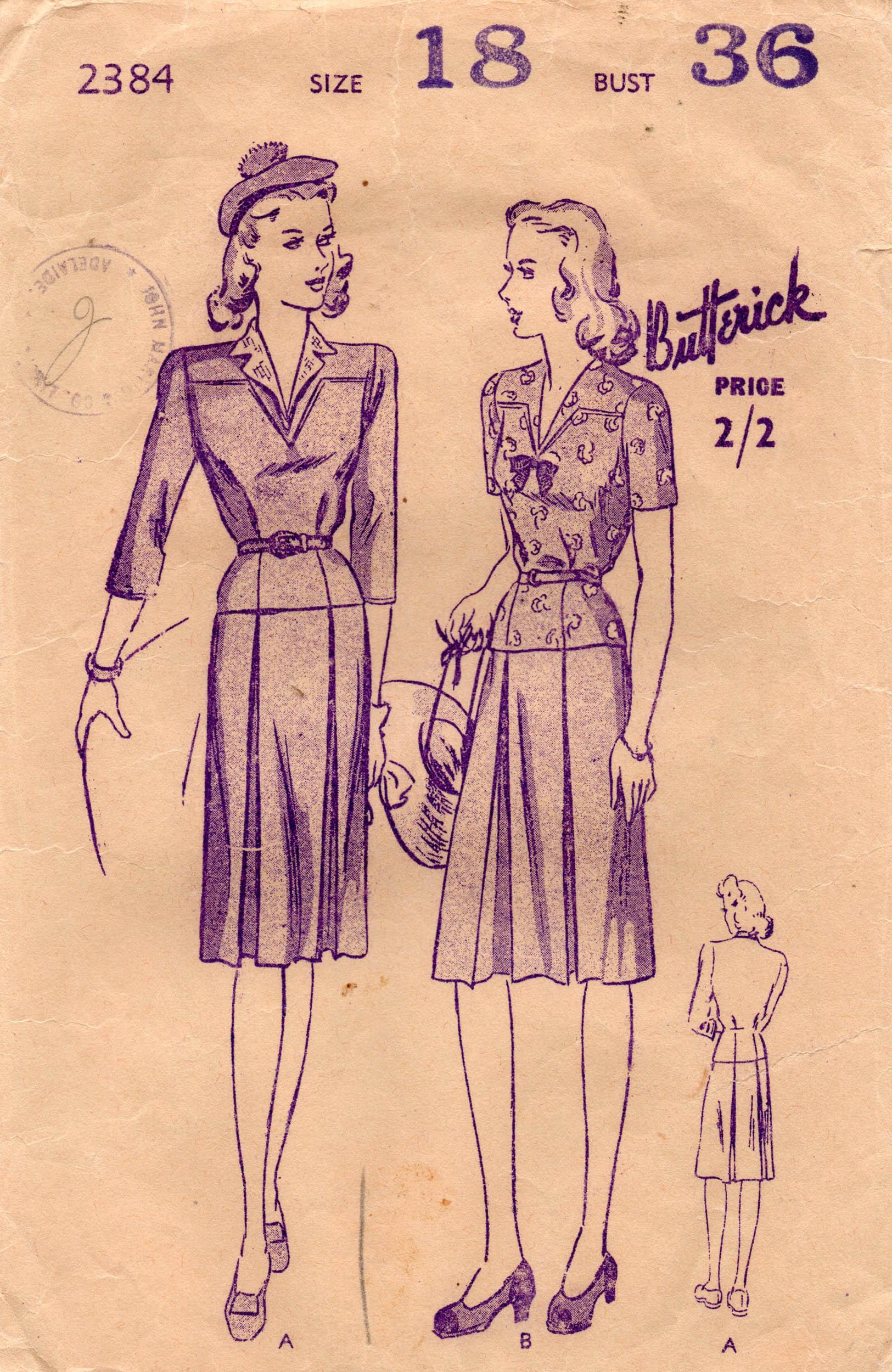 Butterick 2384