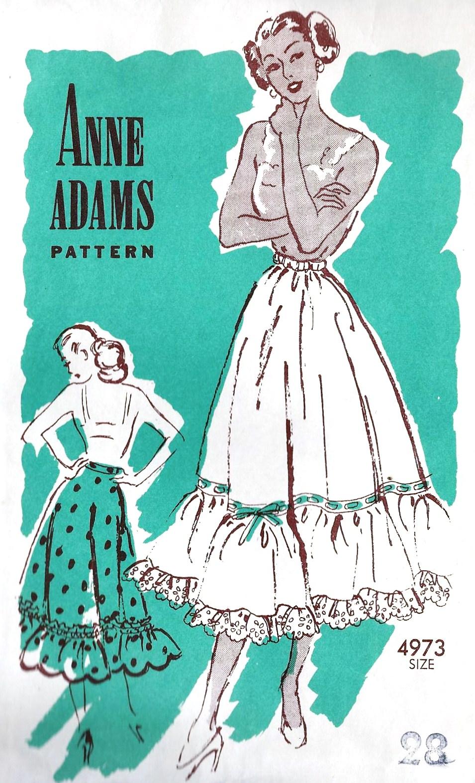 Anne Adams 4973 A
