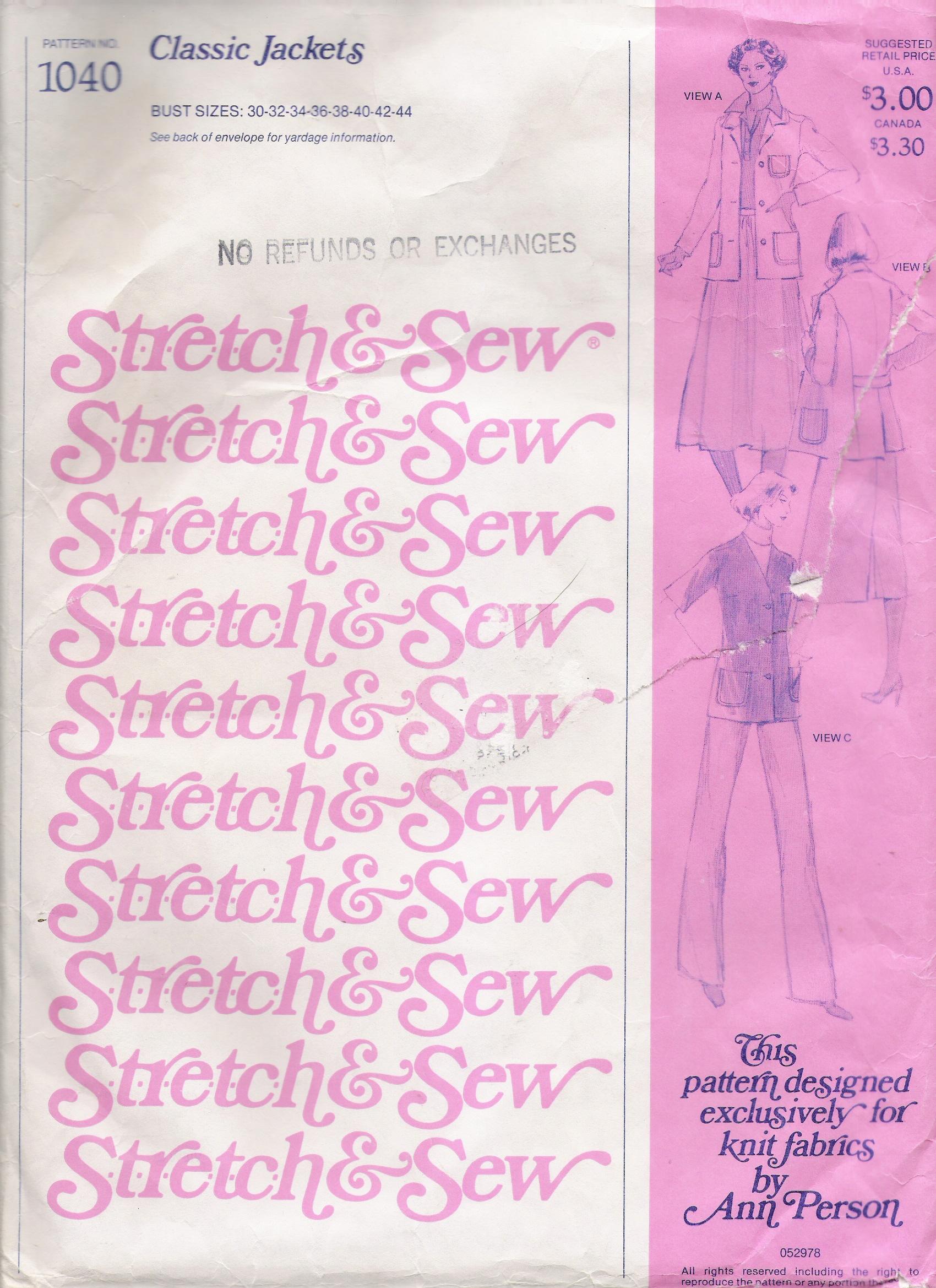 Stretch & Sew 1040