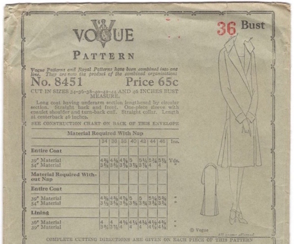 Vogue 8451 B