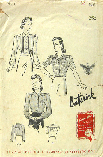 Butterick 1377