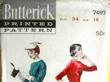 Butterick 7497