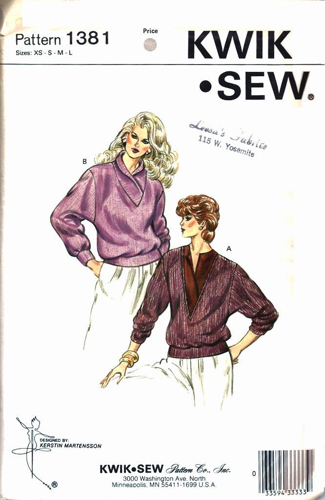 Kwik Sew 1381