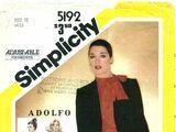 Simplicity 5192 A