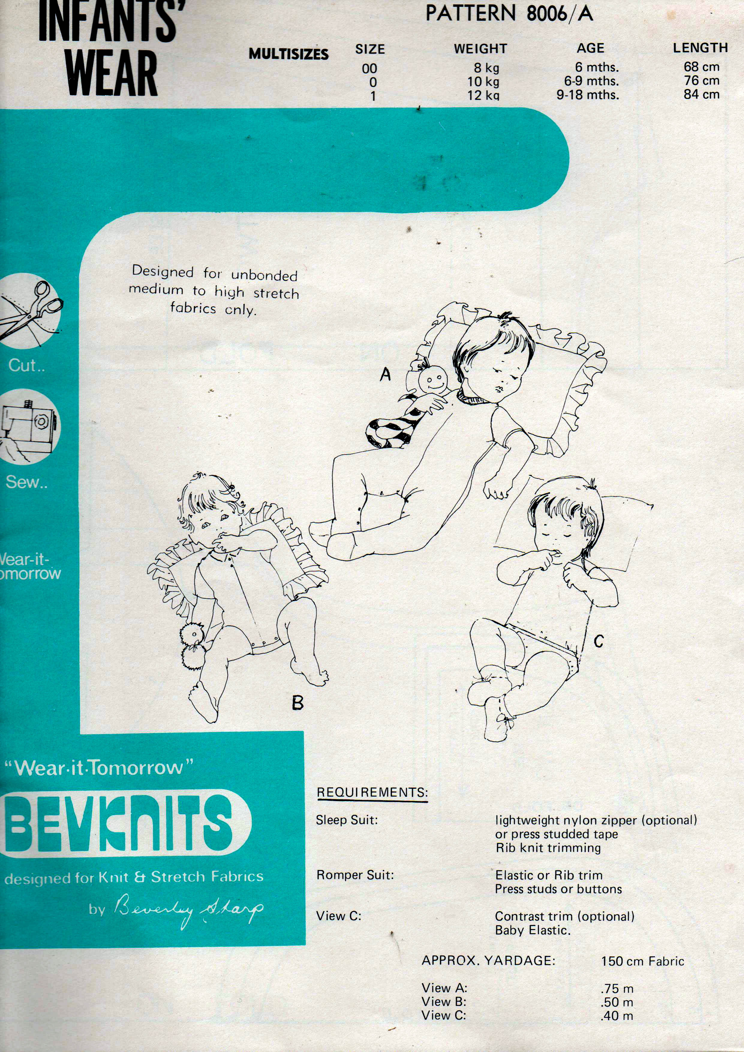 Bevknits 8006A