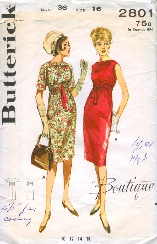 Butterick 2801