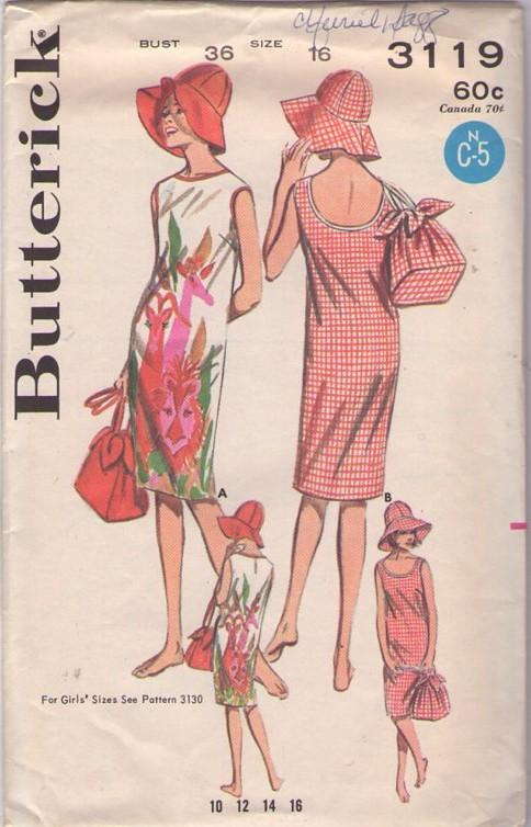 Butterick 3119 B