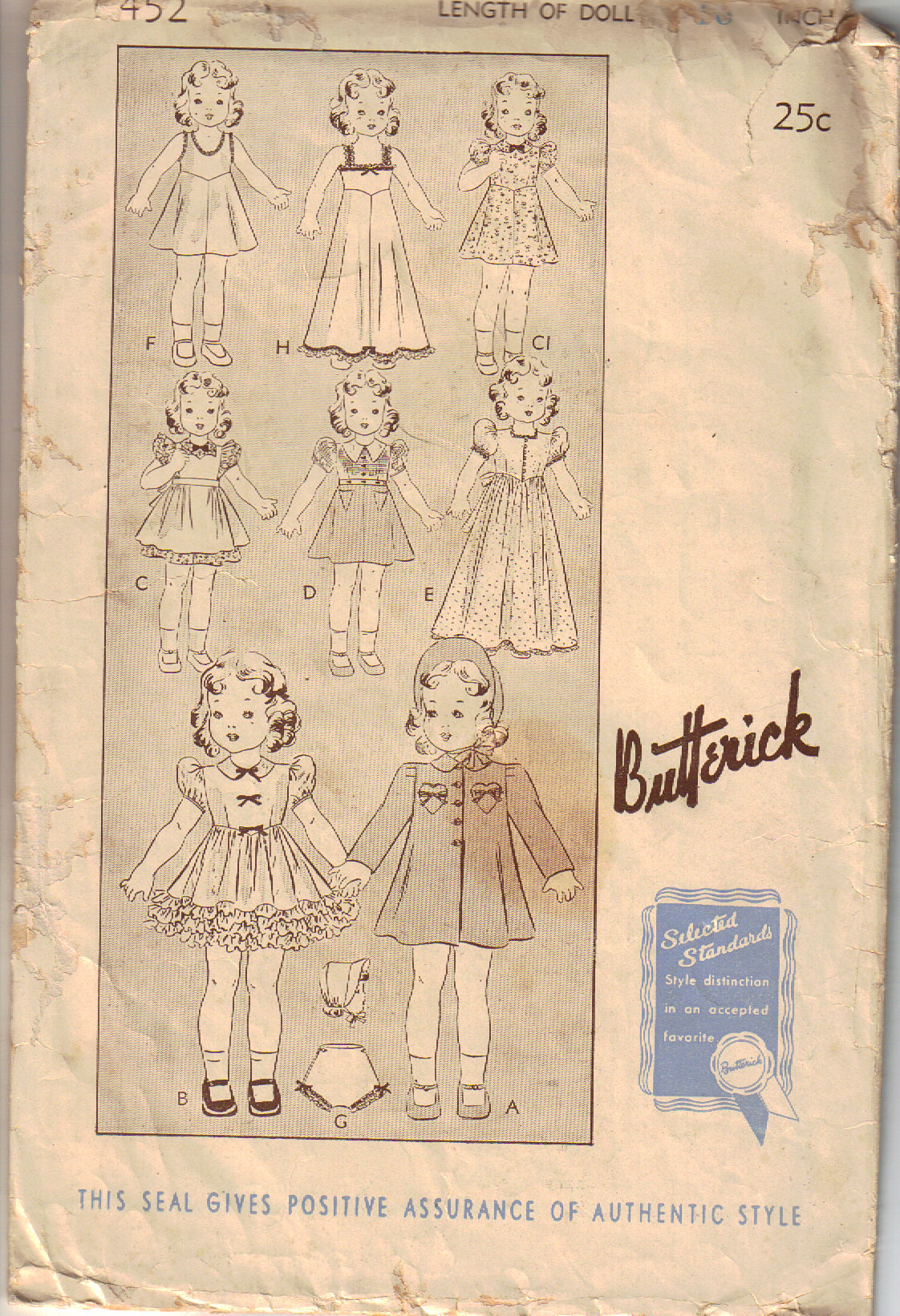 Butterick 452