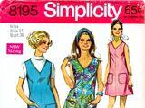 Simplicity 8195 B