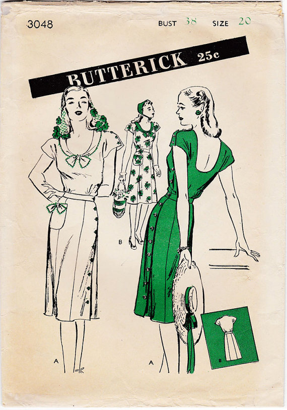 Butterick 3048 B