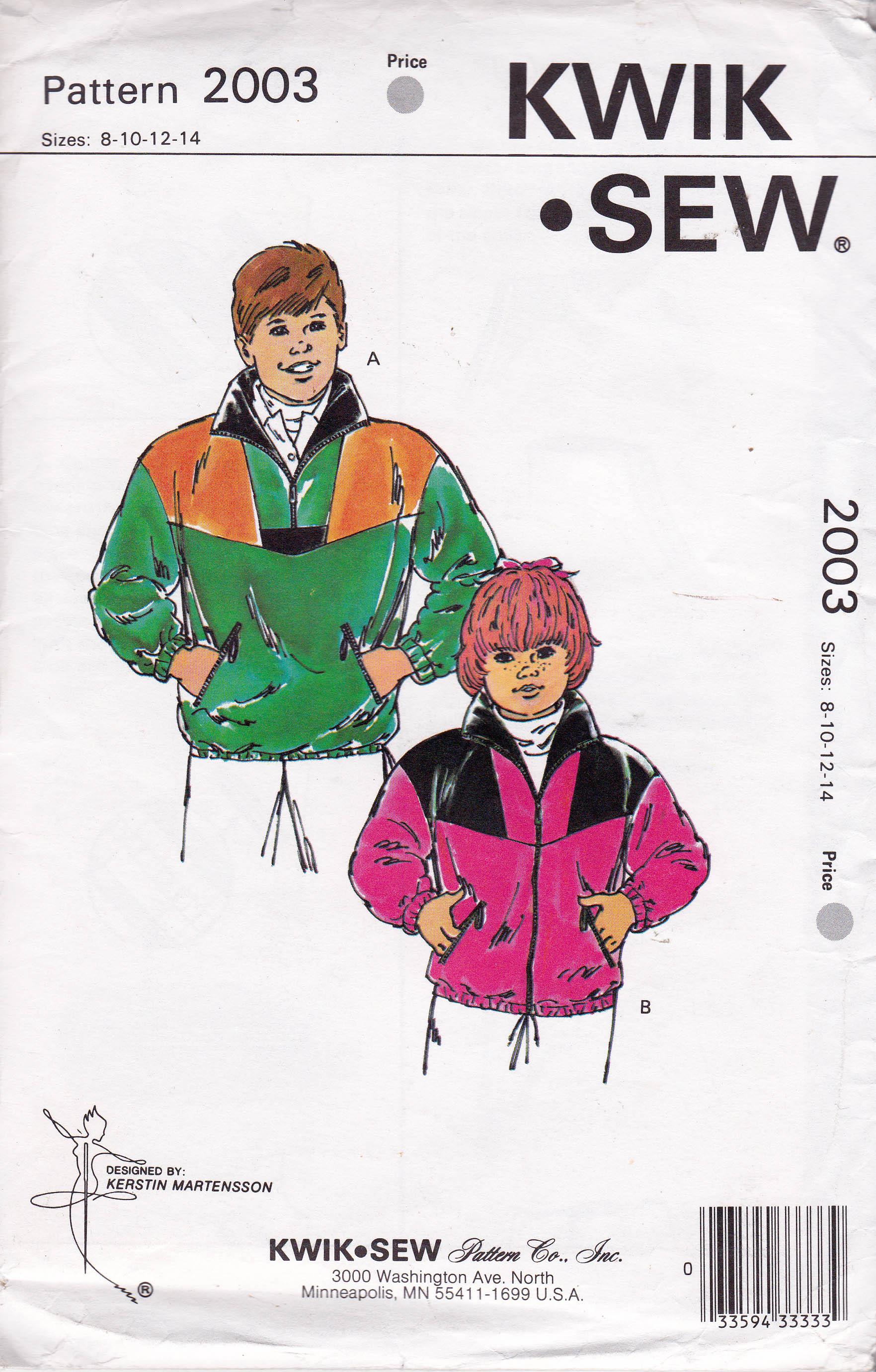 Kwik Sew 2003