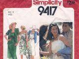 Simplicity 9417 A