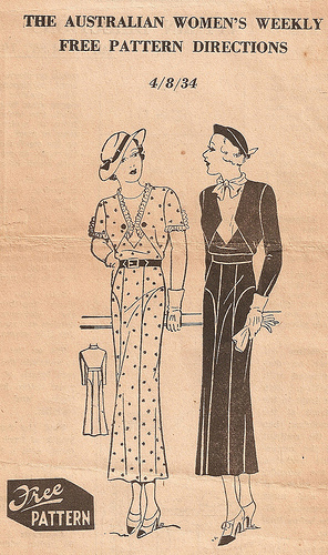 Australian Women's Weekly Free Pattern 4/8/34