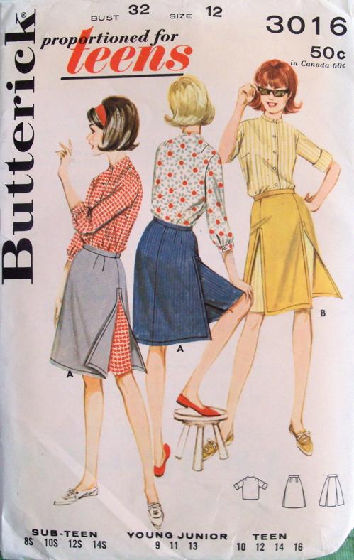 Butterick 3016 A