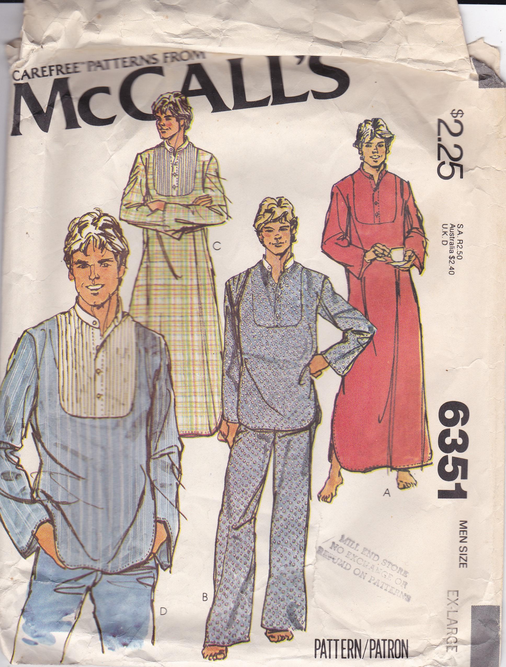 McCall's 6351 A