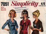 Simplicity 7051 A
