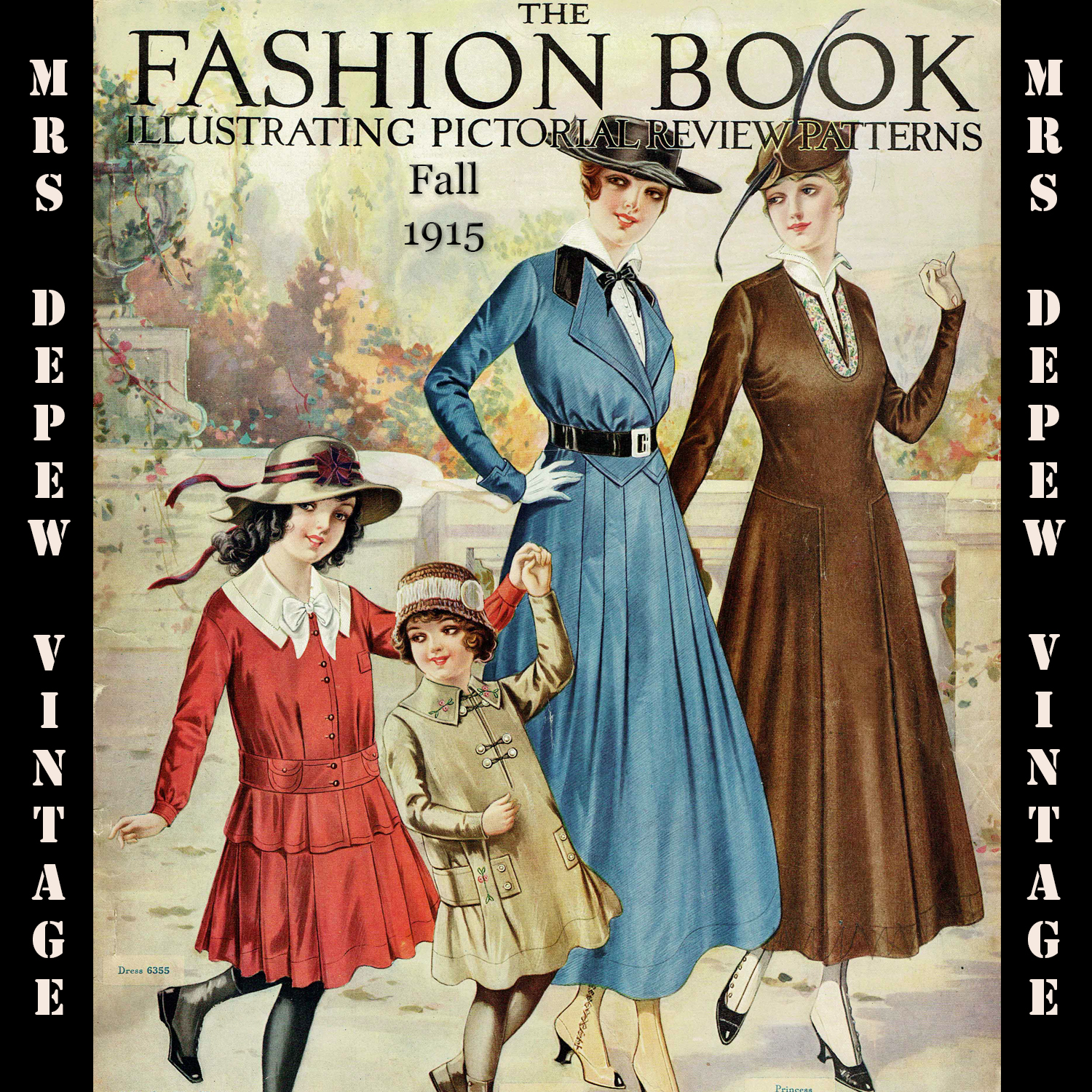 Pictorial Review Fashion Book Fall 1915