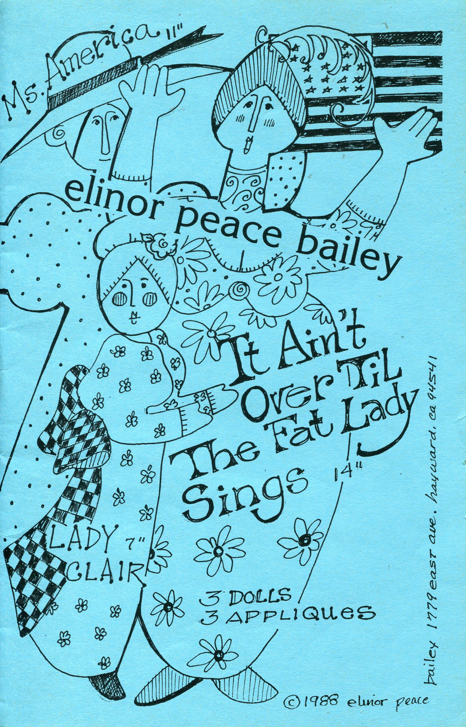 Elinor Peace Bailey It Ain't Over Til The Fat Lady Sings