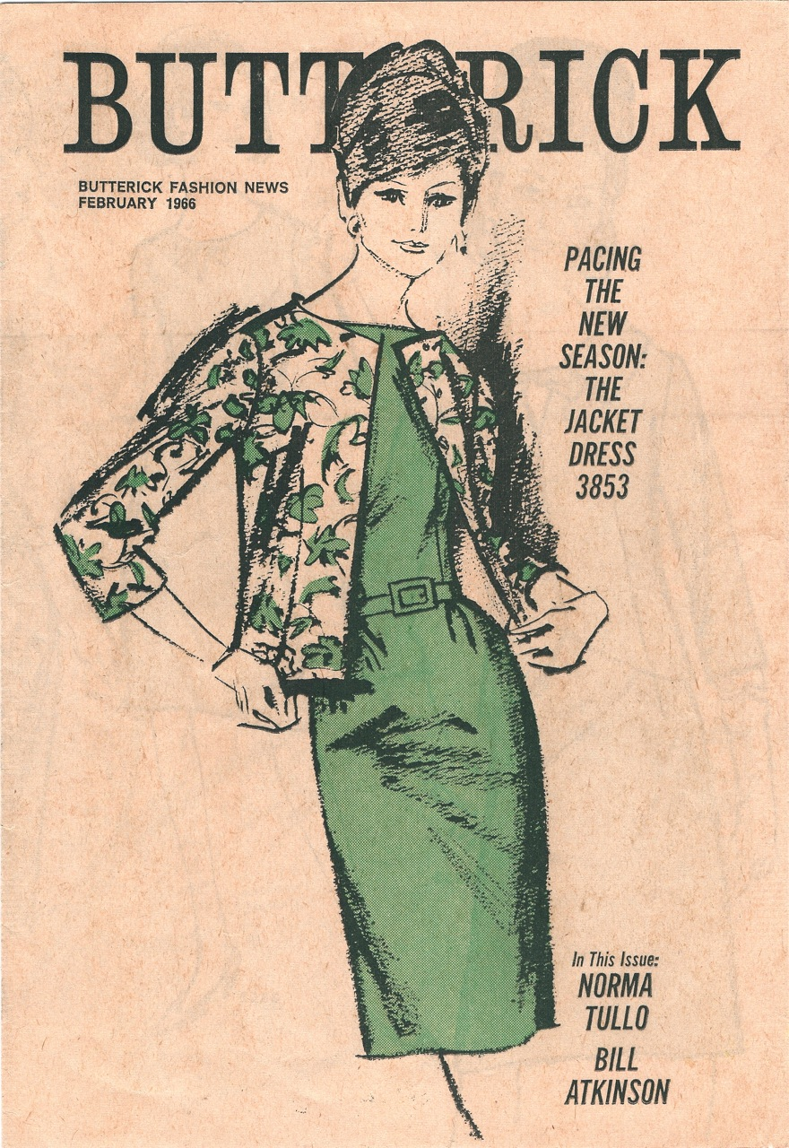 Butterick Fashion News February 1966