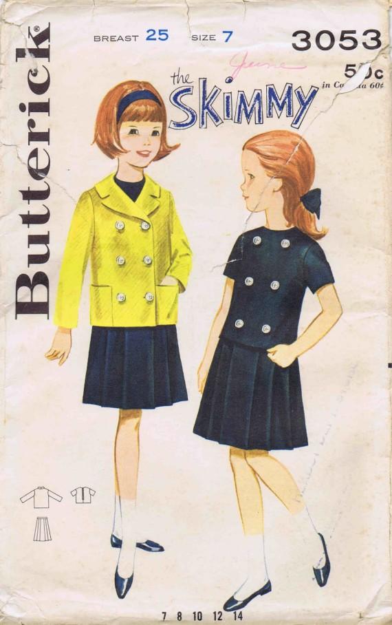 Butterick 3053 D