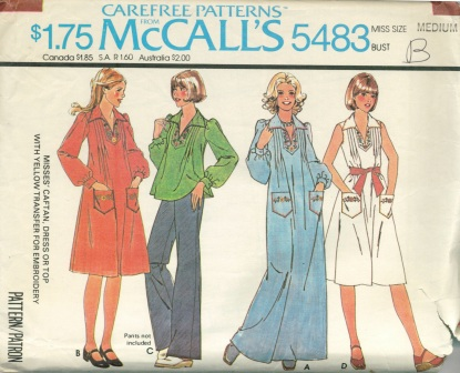 McCall's 5483 A