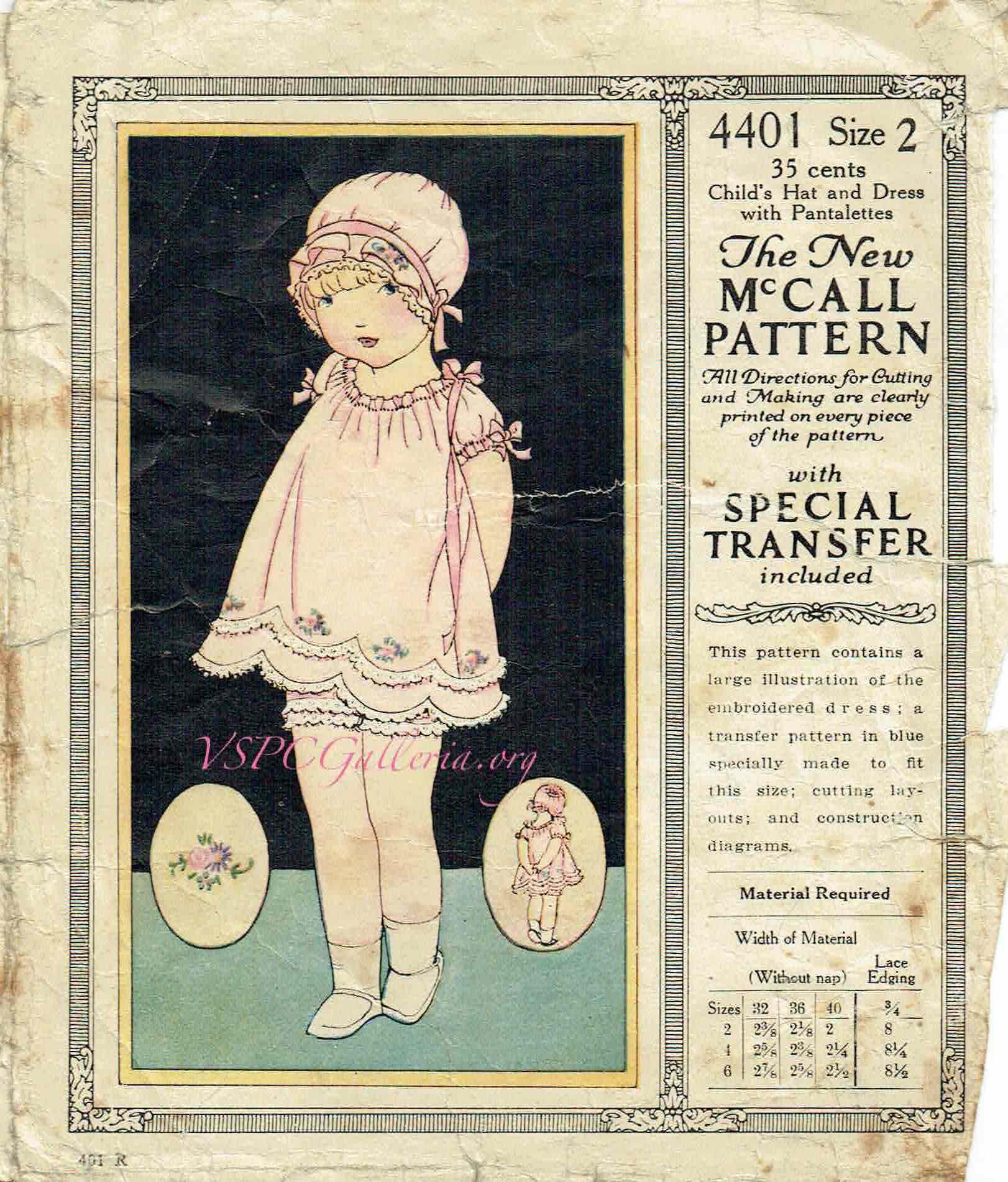McCall 4401 A