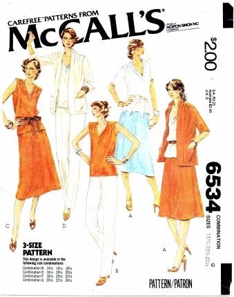 McCall's 6534