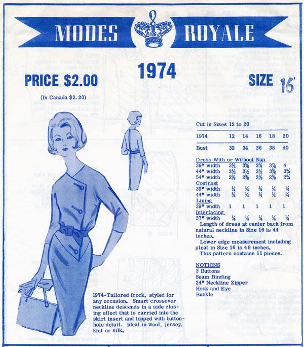 Modes Royale 1974
