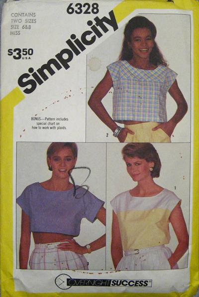 Simplicity 6328 A