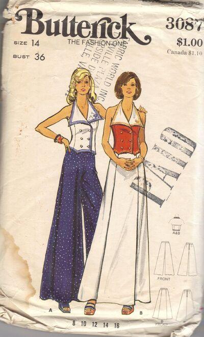 Misses' Top, Skirt