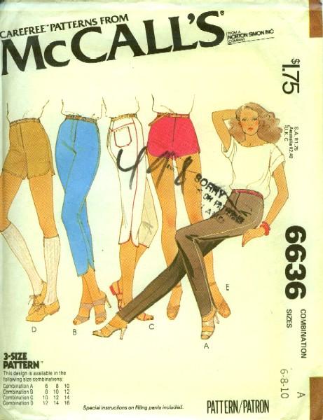McCall's 6636