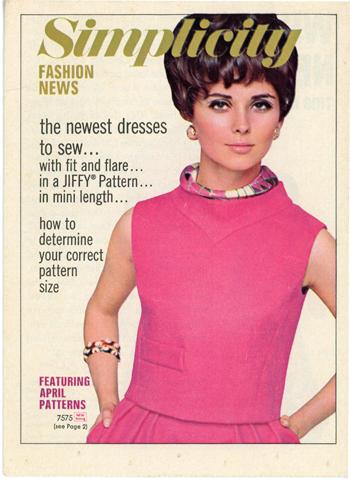 Simplicity Fashion News April 1968