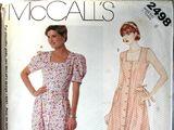 McCall's 2498 A