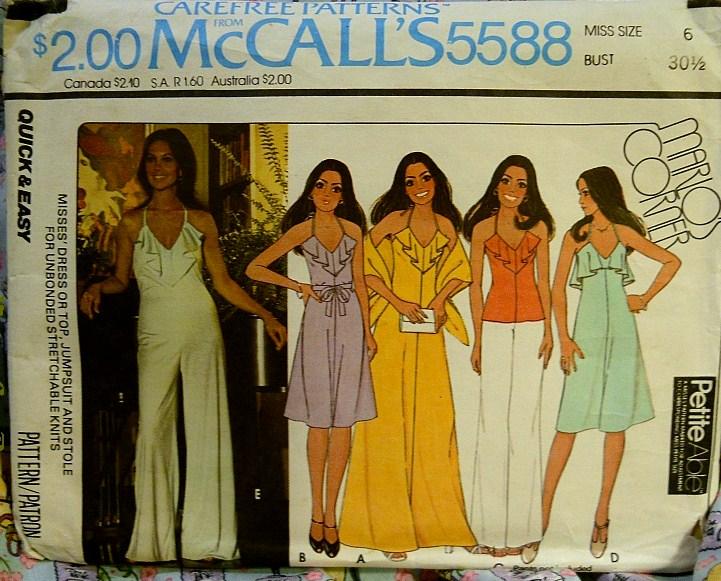 McCall's 5588 A