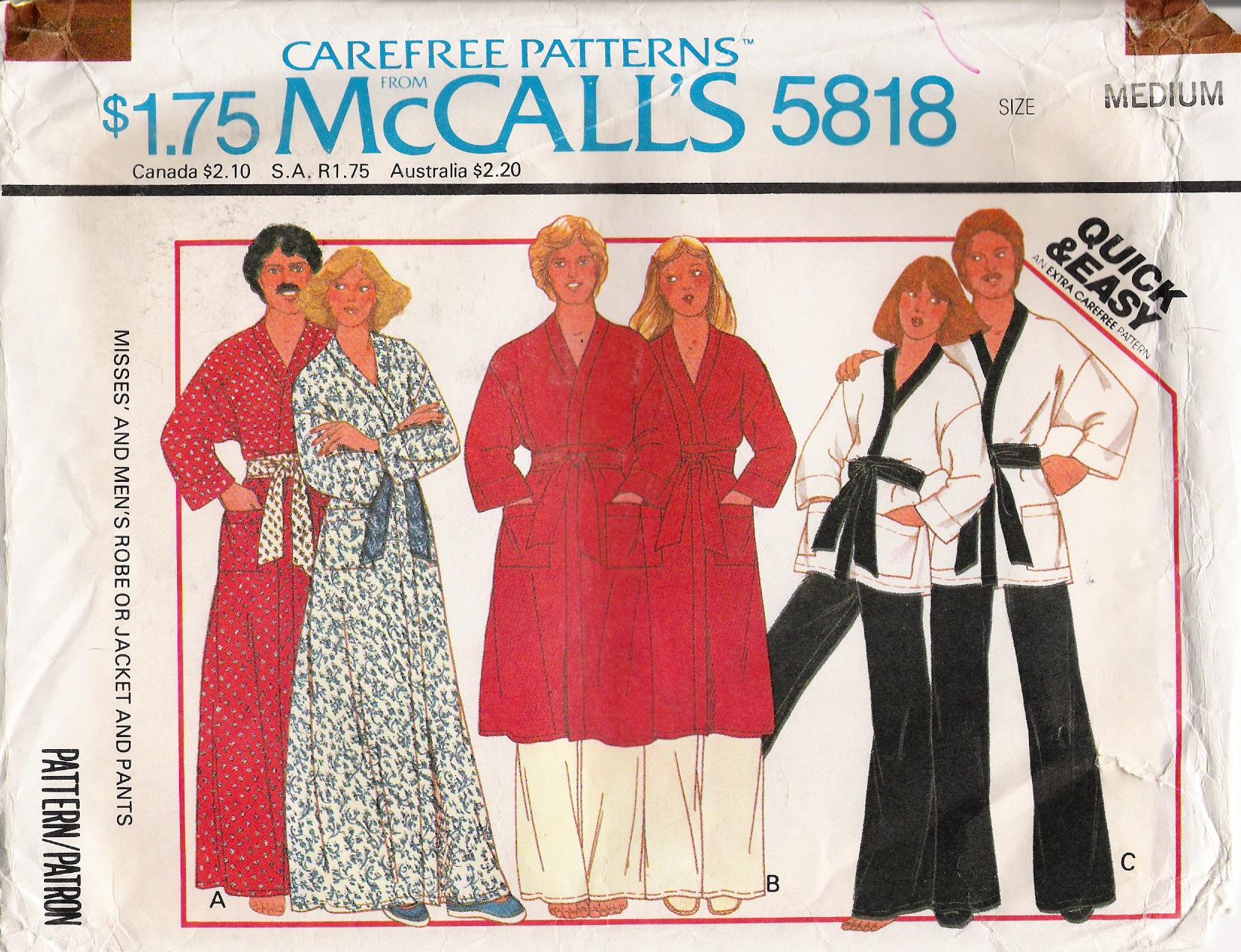 McCall's 5818