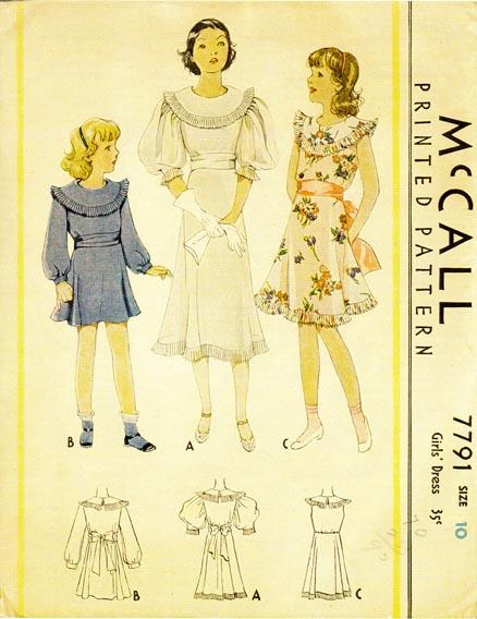 McCall 7791 A