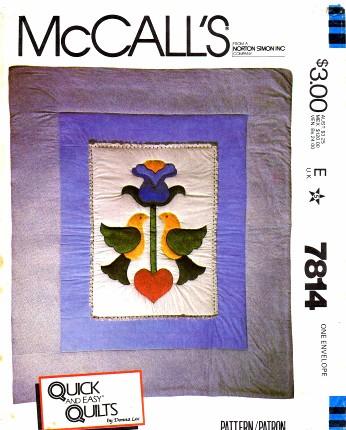 McCall's 7814 A