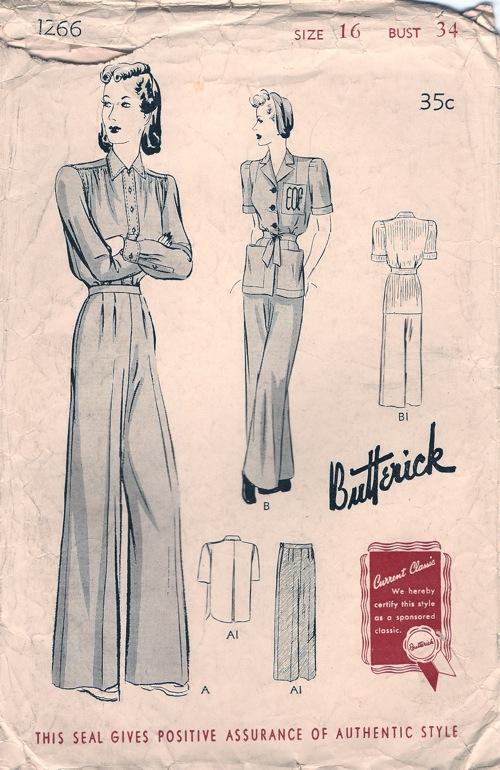 Butterick 1266