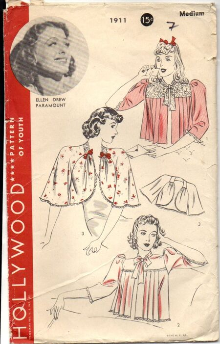 Hollywood 1911 ©1939 Bed Jackets