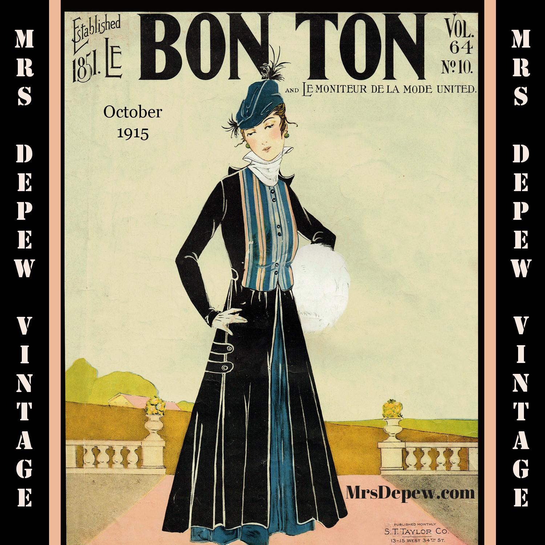 Le Bon Ton October 1915
