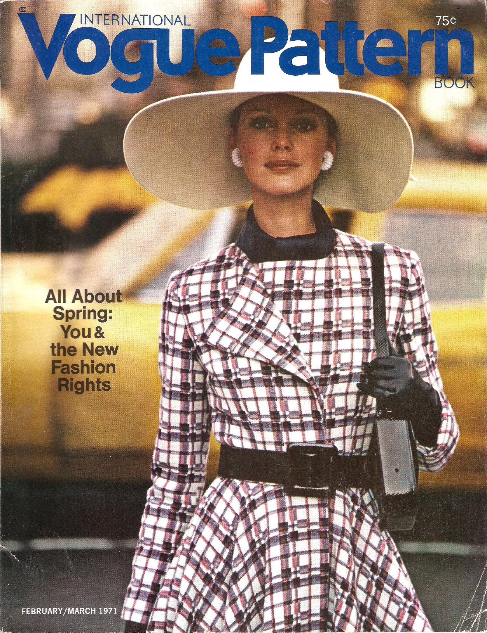 Vogue International Pattern Book February/March 1971