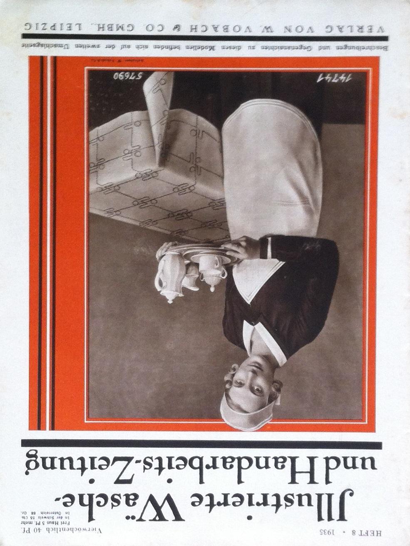 Illustrierte Wäsche- und Handarbeits-Zeitung No. 8 1935
