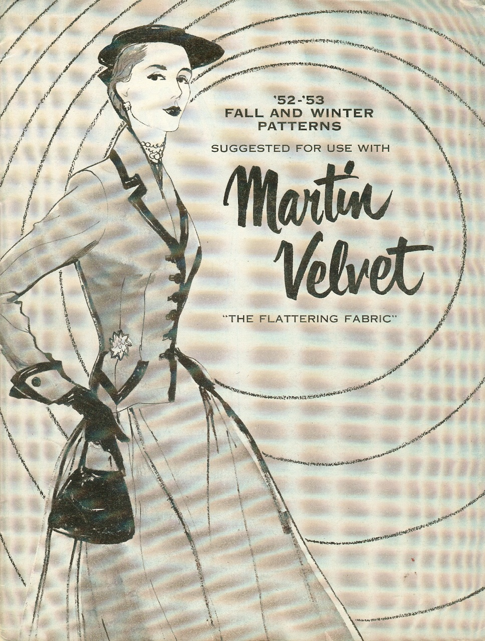 Martin Velvet '52-'53 Fall and Winter Patterns