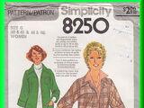 Simplicity 8250 A