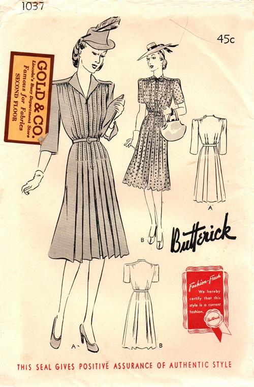Butterick 1037