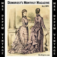 Demorest's Illustrated Monthly 1875
