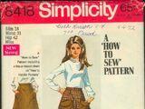 Simplicity 8418