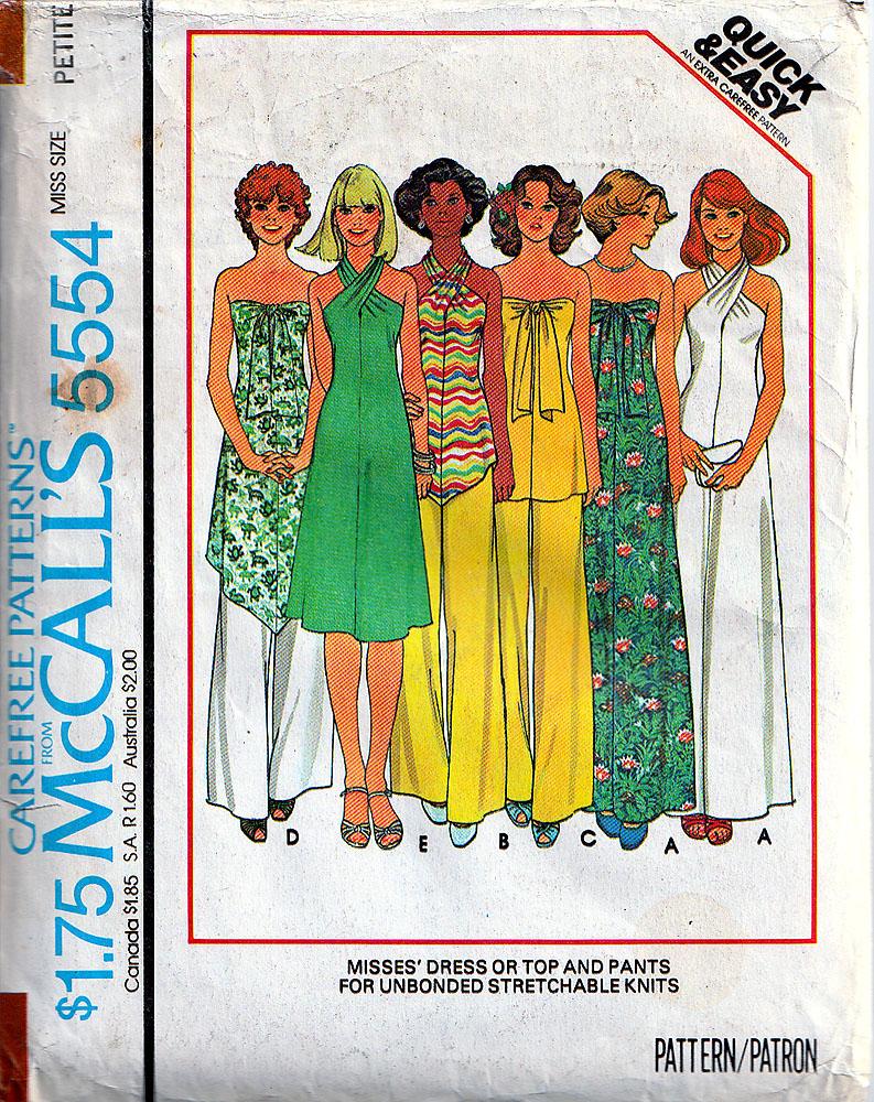 McCall's 5554 A